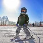 дети и горные лыжи