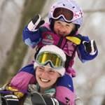 как научить ребенка кататься на горных лыжах