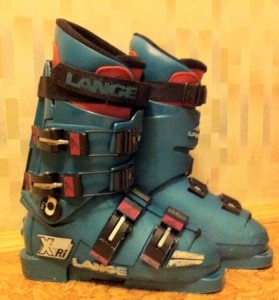 горнолыжные ботинки детские Lange