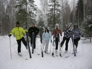 Ski vverh
