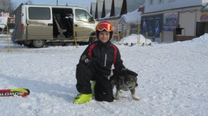 Yasya i hund